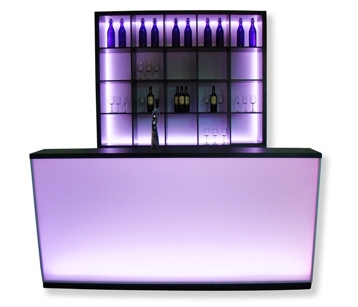 Luxe LED-bar Satin 2,1m huren