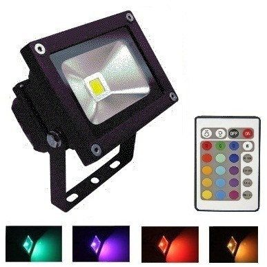 RGB LED Lamp 10 watt huren