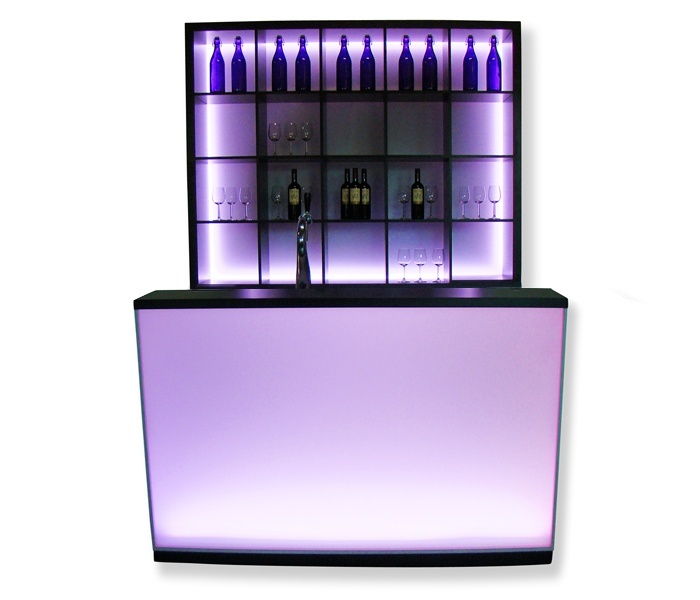 Luxe LED-bar Satin 1,6m huren
