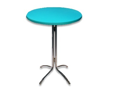 Tophoes stretch rond 80cm turquoise huren