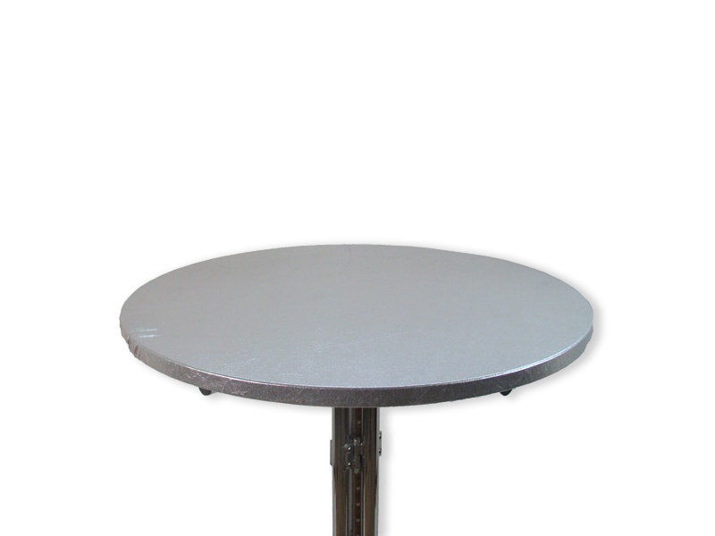 Tophoes stretch rond 80cm zilver huren
