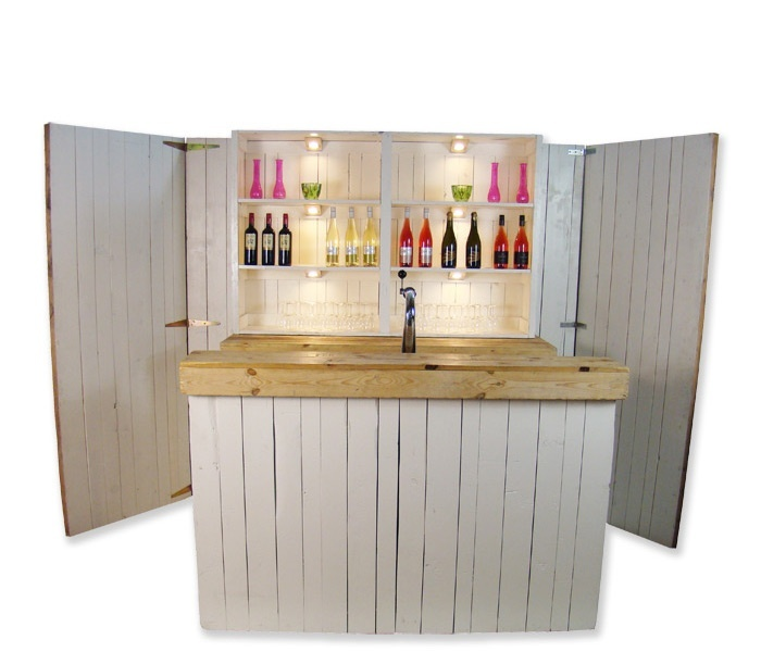 Luxe bar Mixed Wood 1,7m huren